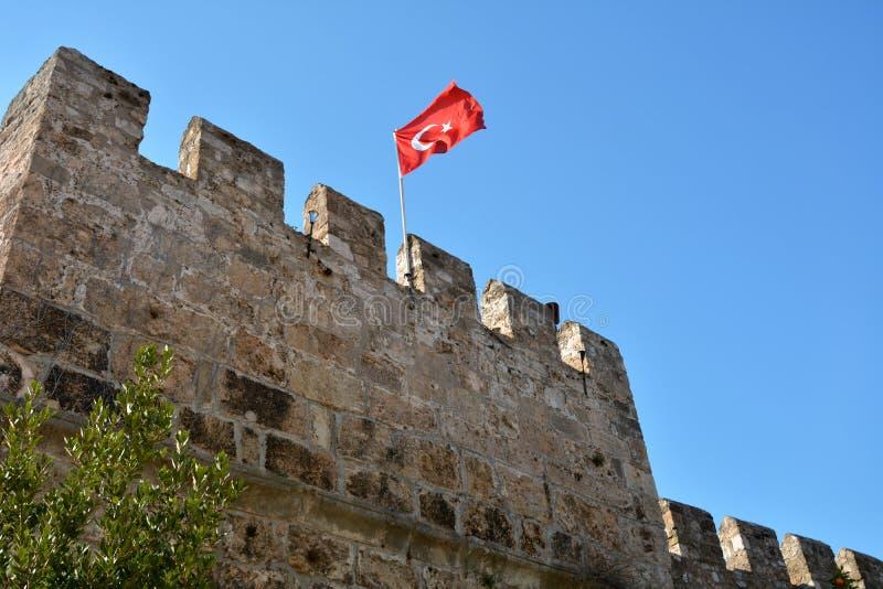 Castle Antalya στοκ φωτογραφίες με δικαίωμα ελεύθερης χρήσης