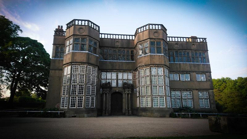 Astley hall castle royalty free stock photo