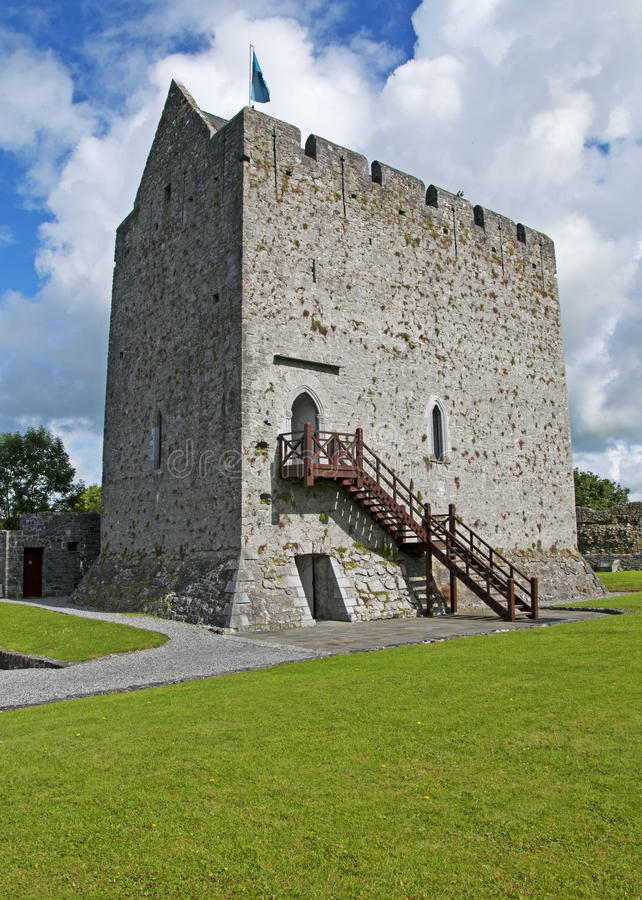 The Castle at Athenry, Ireland stock image