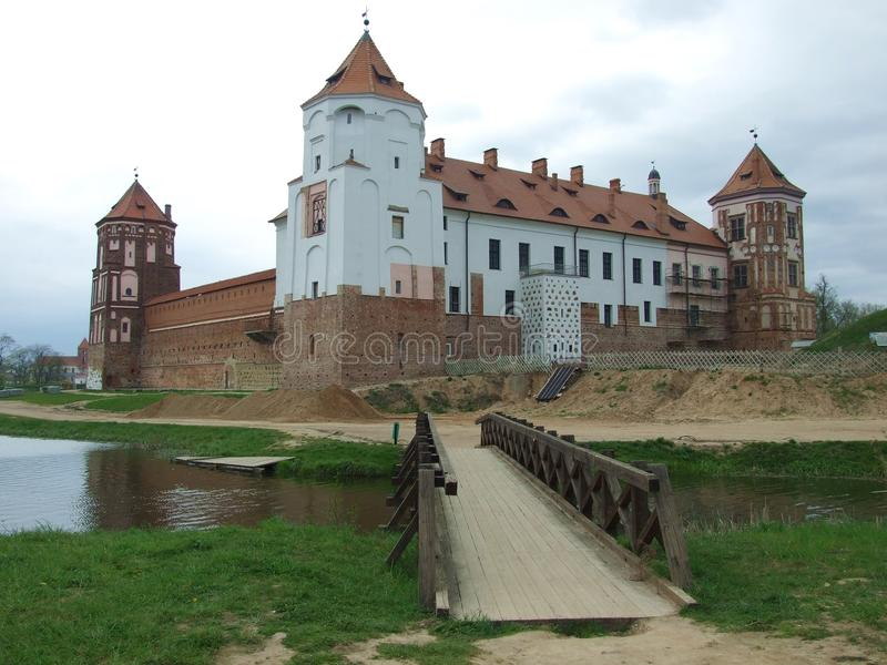 Download Castle (backside) In Mir-town Stock Image - Image: 25724833