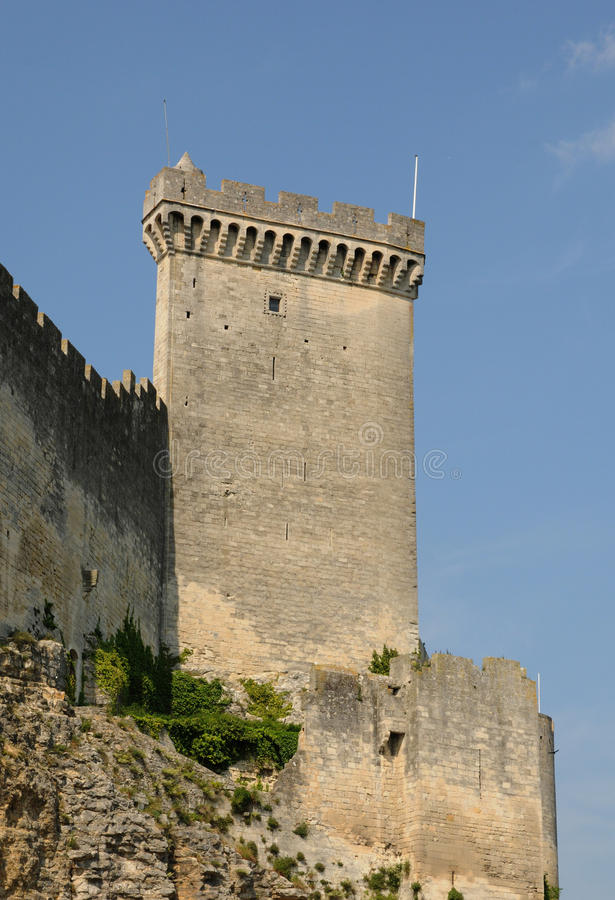 Download Castle Of Beaucaire Stock Photo - Image: 20633100