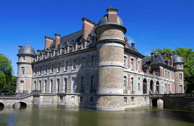 Castle Beleoil In Belgium Stock Photography
