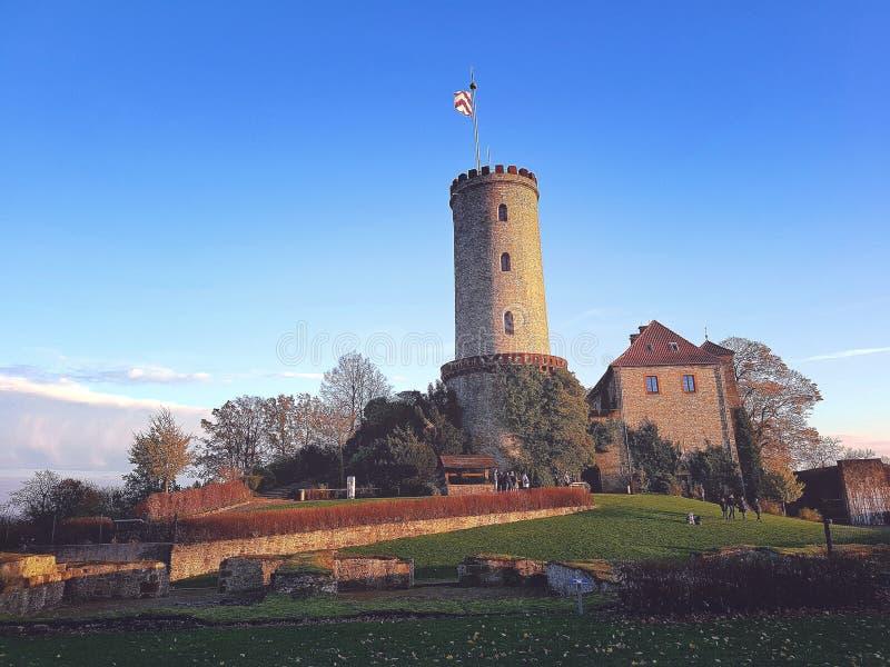 Castle Bielefield στοκ εικόνες