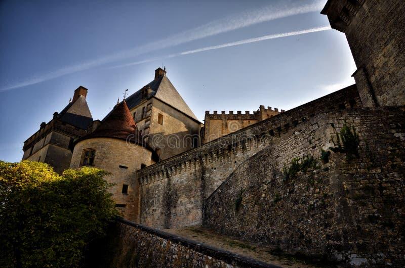 Castle Biron, Dordogne, Γαλλία στοκ φωτογραφίες
