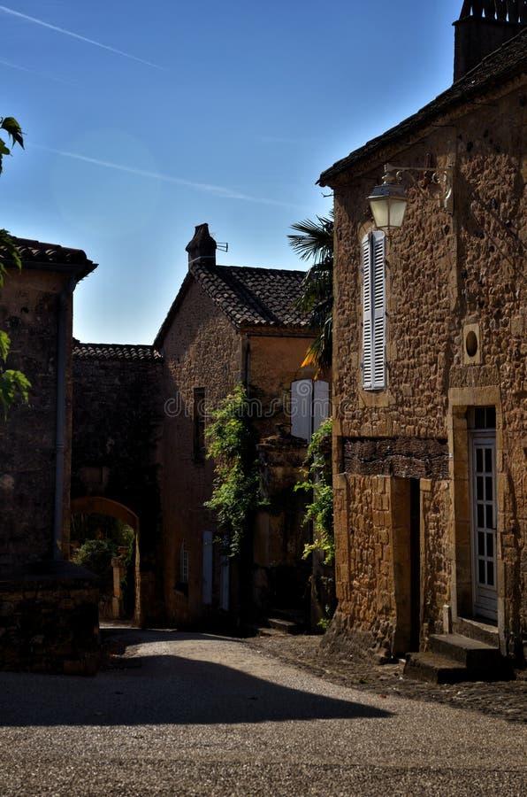 Castle Biron, Dordogne, Γαλλία στοκ φωτογραφίες με δικαίωμα ελεύθερης χρήσης