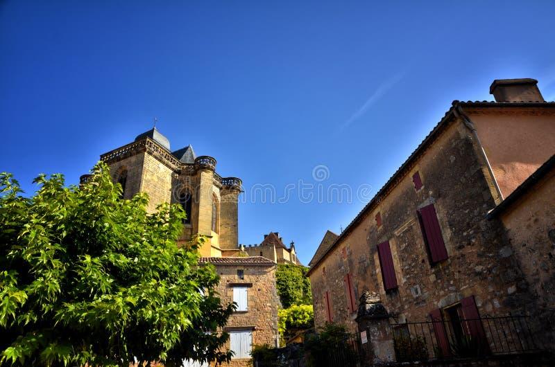 Castle Biron, Dordogne, Γαλλία στοκ φωτογραφία