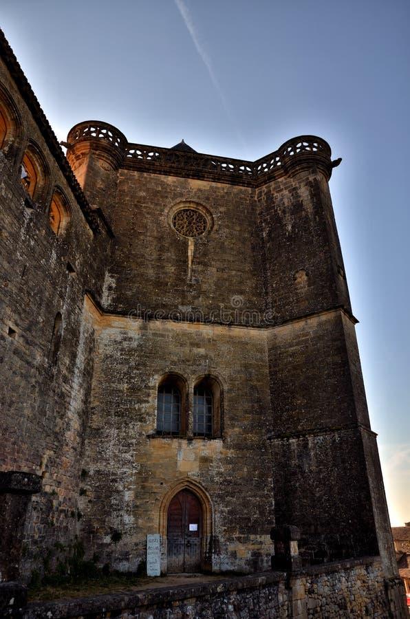 Castle of Biron, Dordogne, France stock photo