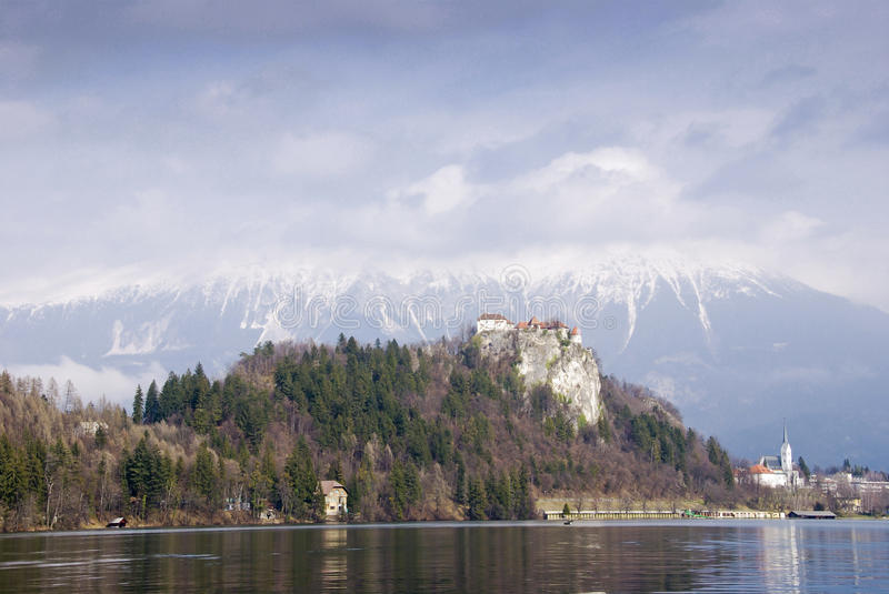 Download Castle Of Bled Royalty Free Stock Images - Image: 19988079