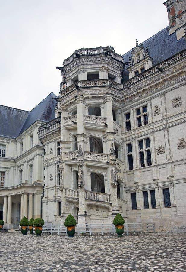 Castle of Blois royalty free stock photos