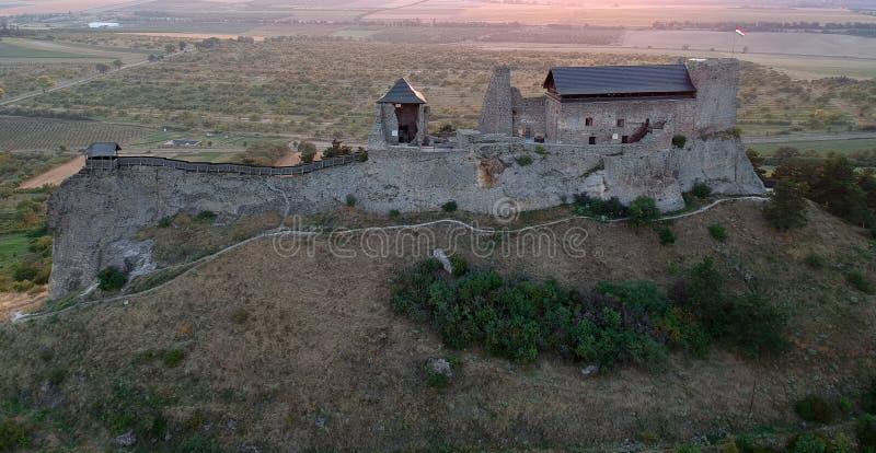 Castle of Boldogko in Hungary in Europe stock photo