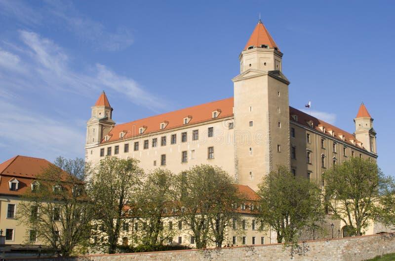 Castle in Bratislava royalty free stock photography