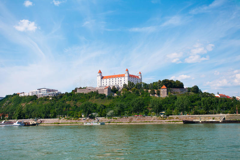 castle in Bratislava royalty free stock images