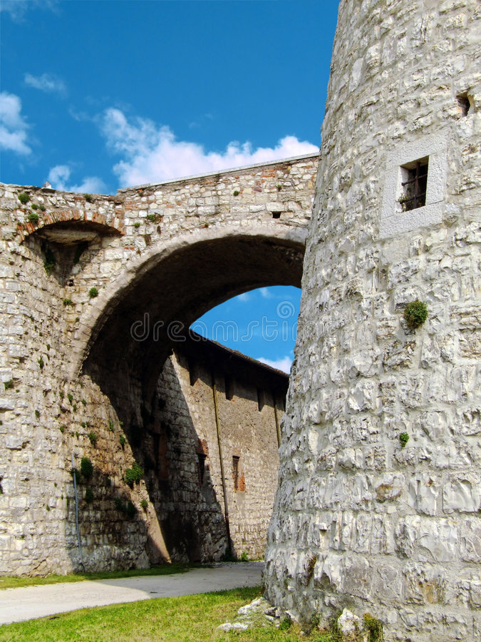 Download Castle Of Brescia Royalty Free Stock Image - Image: 6984246