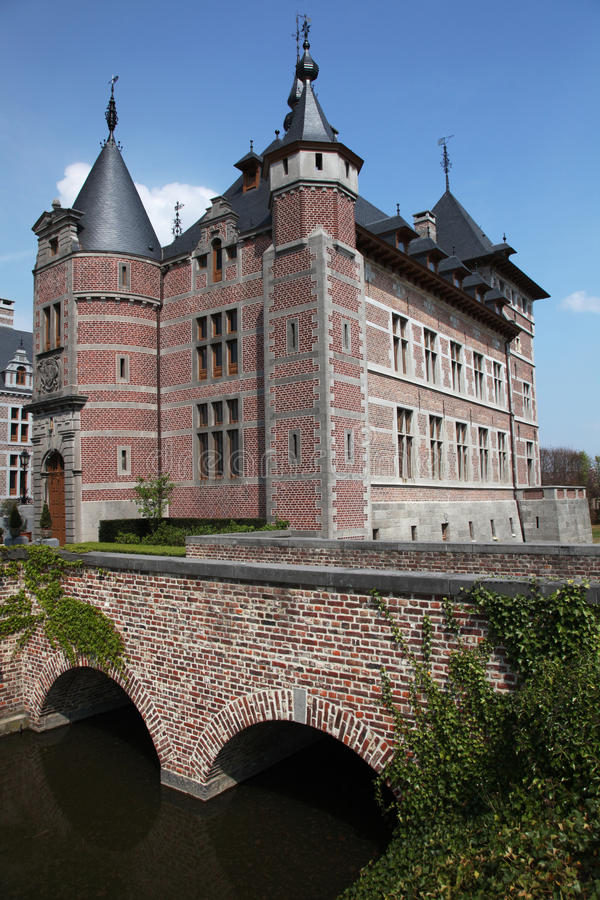 Castle bridge royalty free stock images