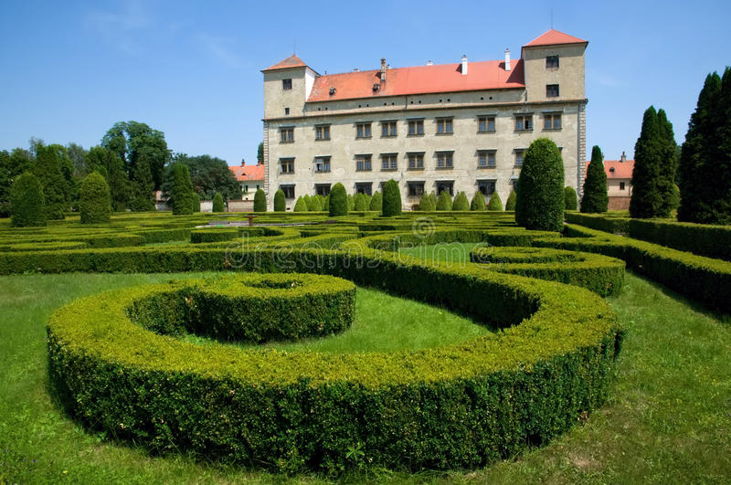 Download Castle Bucovice stock image. Image of moravia, deserted - 28052705