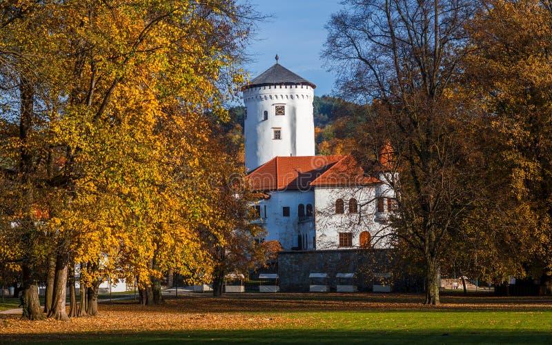 Castle Budatin royalty free stock photography