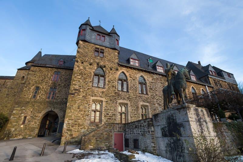 Castle burg solingen germany. Historic castle burg solingen germany royalty free stock photos
