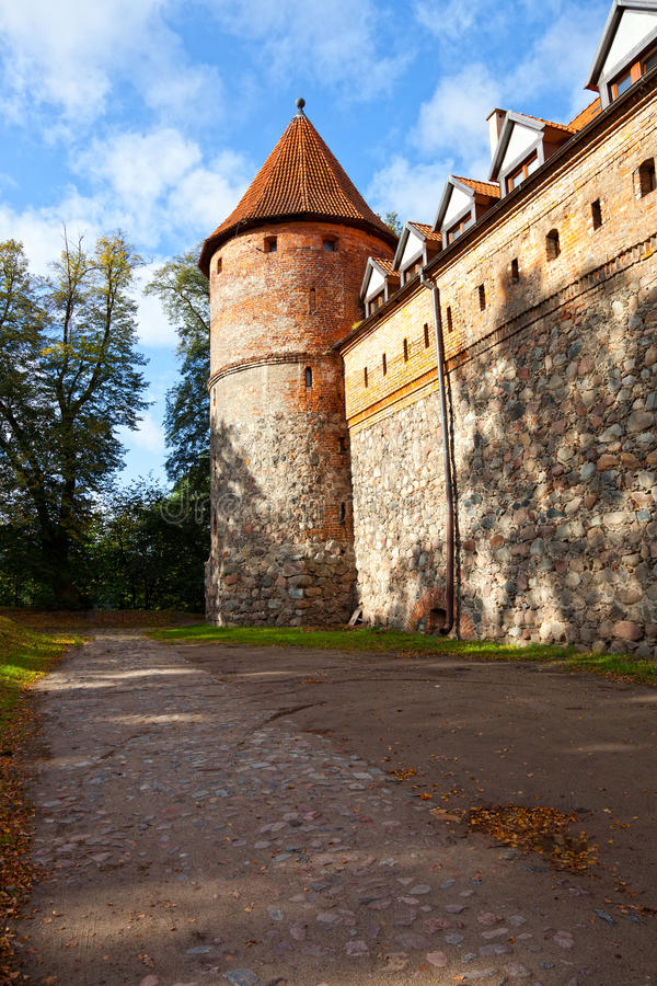 Castle in Bytow, Poland. Teutonic castle at the turn of the XIV and XV centuries in Bytow, Poland stock photos