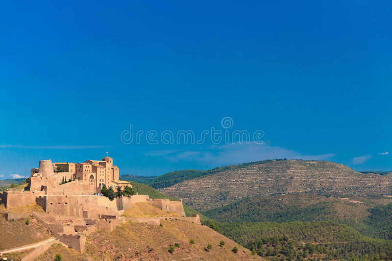 Download Castle of Cardona in Spain stock image. Image of historic - 22988519