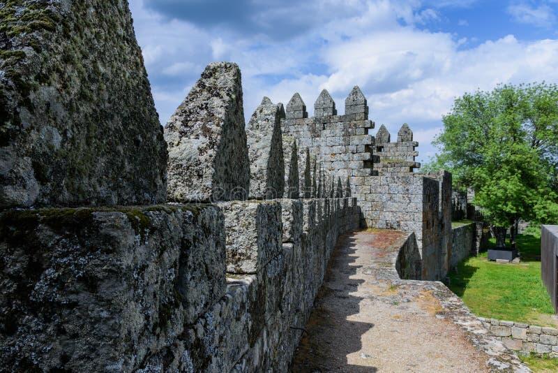 Castle Celorico DA $μπέιρα Πορτογαλία στοκ φωτογραφίες με δικαίωμα ελεύθερης χρήσης