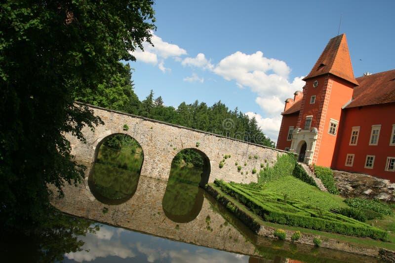 Castle Cervena Lhota in Czech republic.  royalty free stock photography