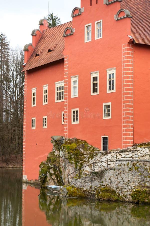 Castle Cervena Lhota. Czech republic royalty free stock image