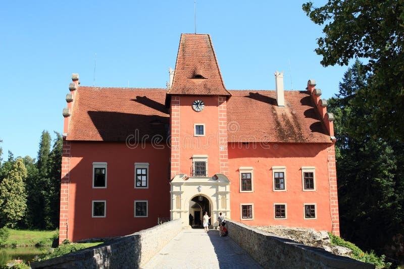 Castle Cervena Lhota stock photos