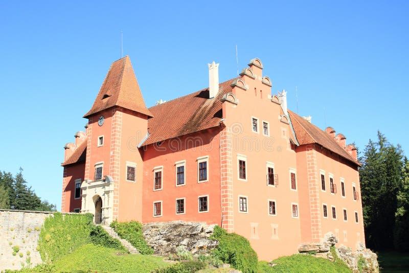 Castle Cervena Lhota royalty free stock image