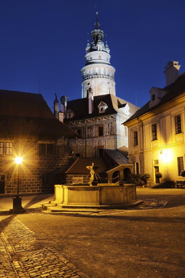 Castle in Cesky Krumlov, South Bohemia, Czech Republic royalty free stock photography