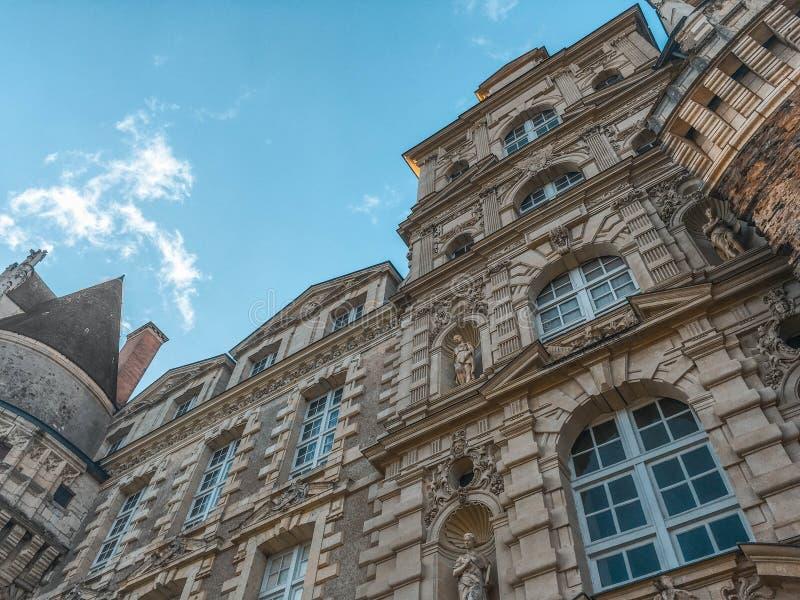 Castle/Château de Brissac στοκ εικόνες
