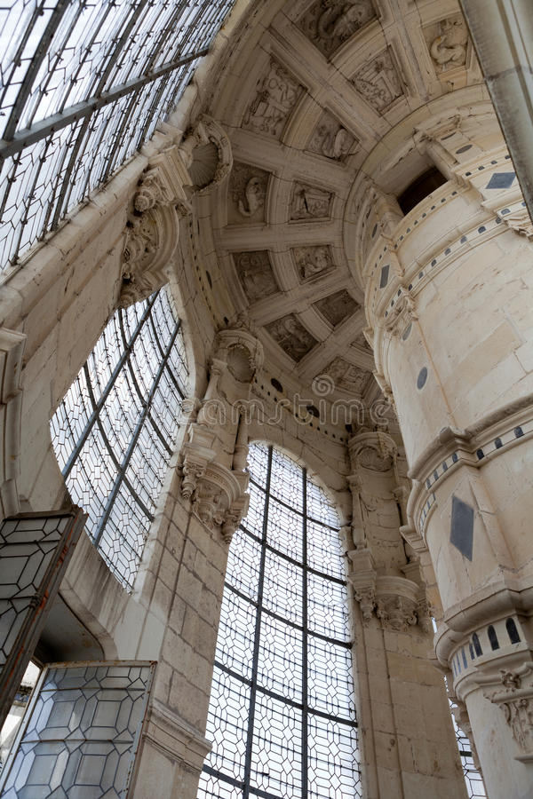 Castle of Chambord royalty free stock photography