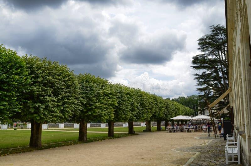 Castle Chenonceau, περιοχή της Loire, της Γαλλίας 27 Ιουνίου 2017 στιγμιότυπο στοκ εικόνα με δικαίωμα ελεύθερης χρήσης