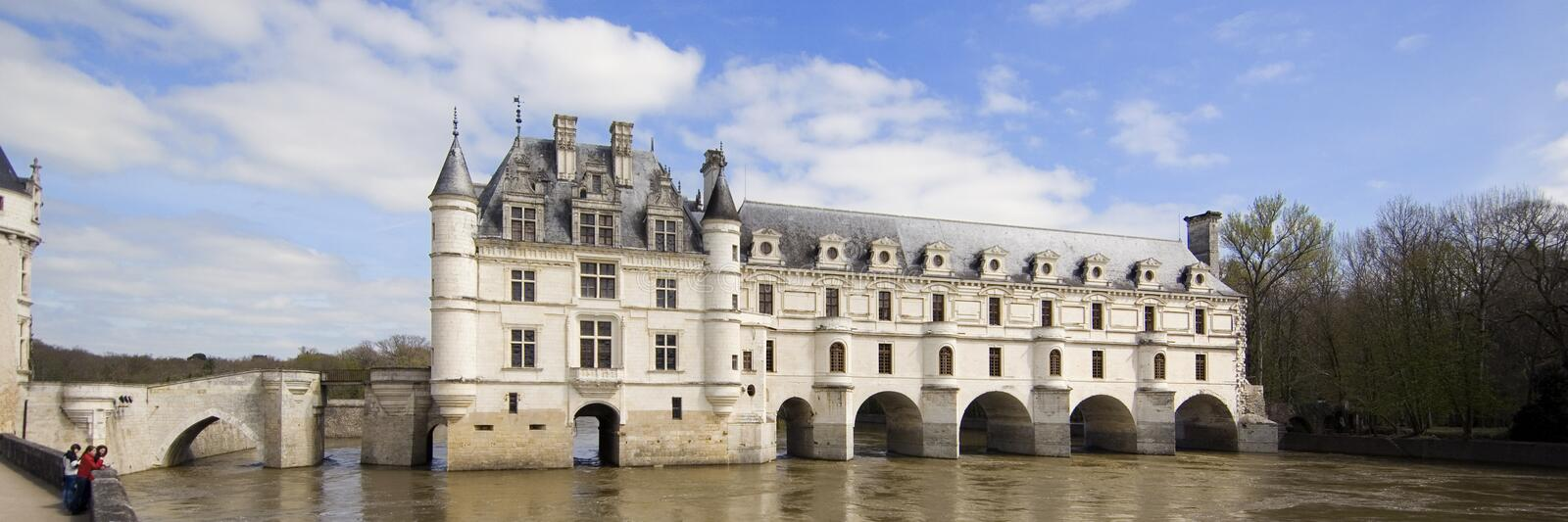 Castle of Chenonceau royalty free stock image