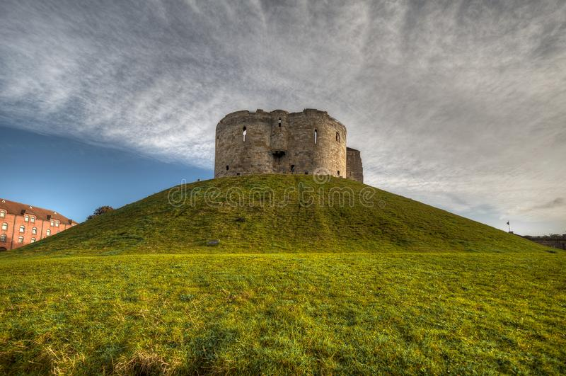 Castle of The city of York in United Kingdom - England.  stock images