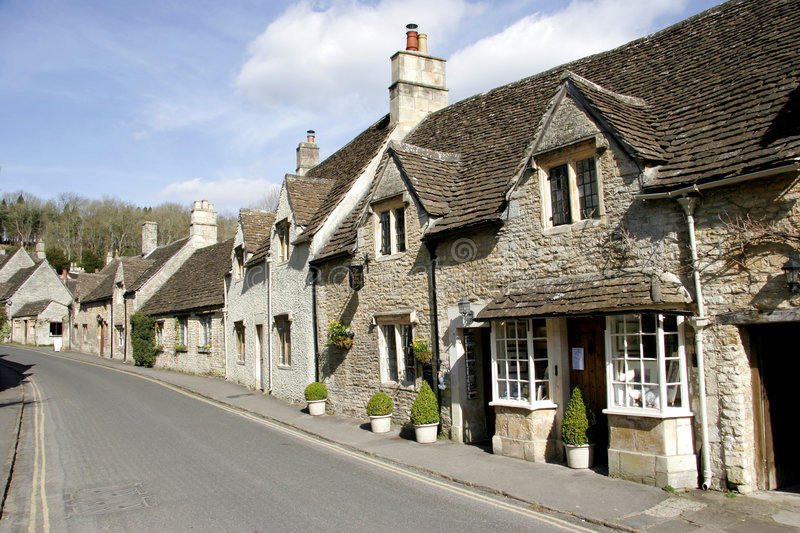 Download Castle Combe village stock photo. Image of village, rural - 6927812