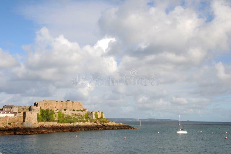 Castle Cornet royalty free stock photography