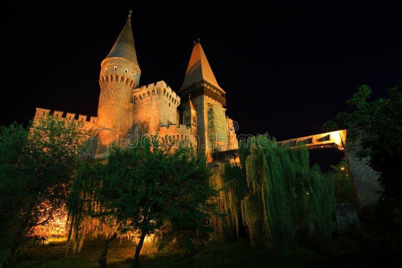 castle corvinesti στοκ εικόνες
