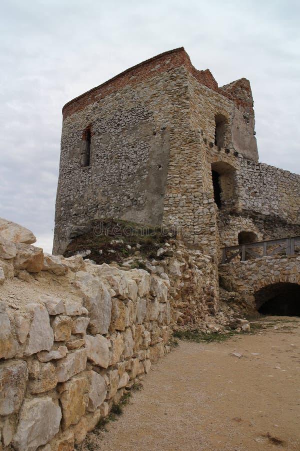 Castle of Countess Elisabeth Báthory, Čachtice stock photos