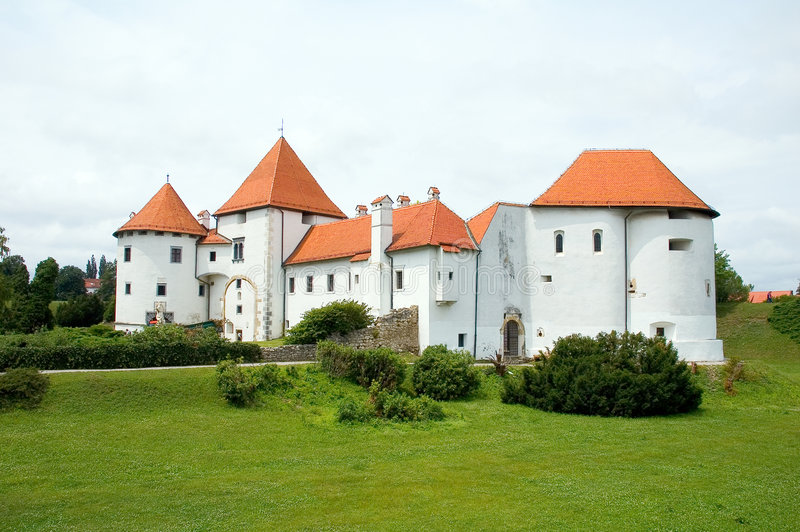 Castle in croatia 1 royalty free stock photos