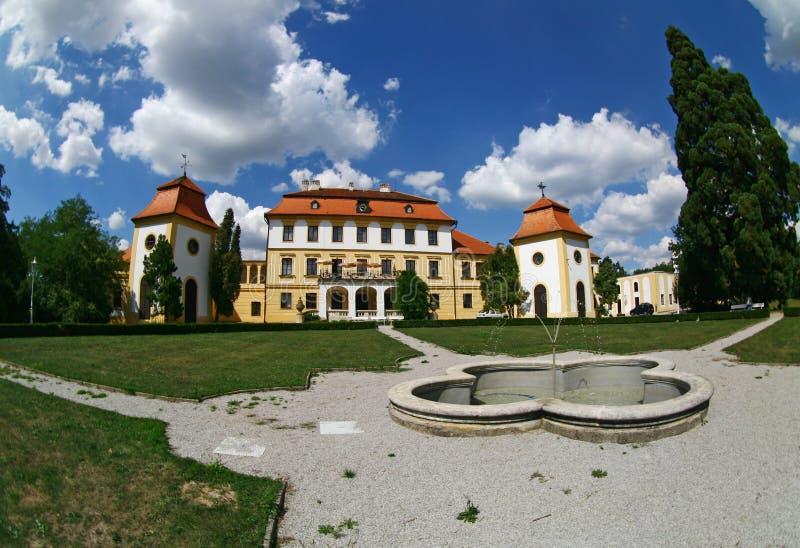 Castle in Czech republic royalty free stock image