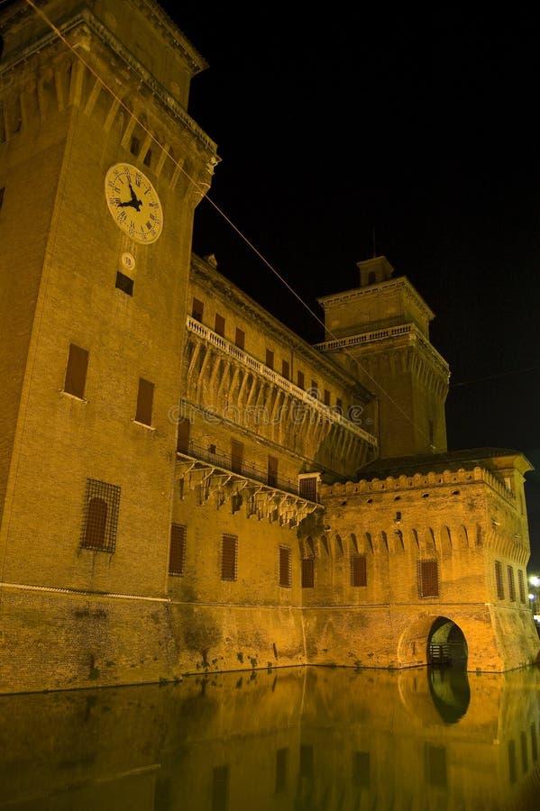 Castle d'Este in Ferrara. Italy royalty free stock image