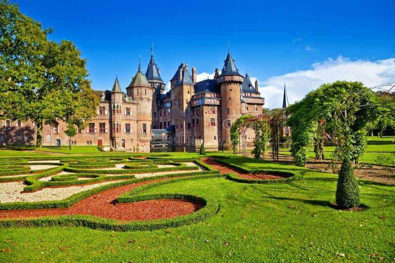 Castle de haar - Κάτω Χώρες στοκ εικόνες με δικαίωμα ελεύθερης χρήσης