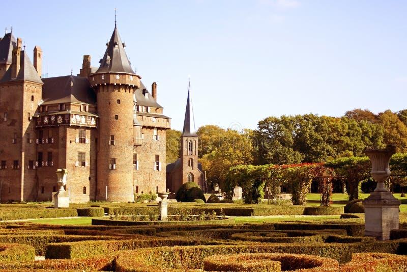 Castle  De Haar  In Holland Editorial Stock Image