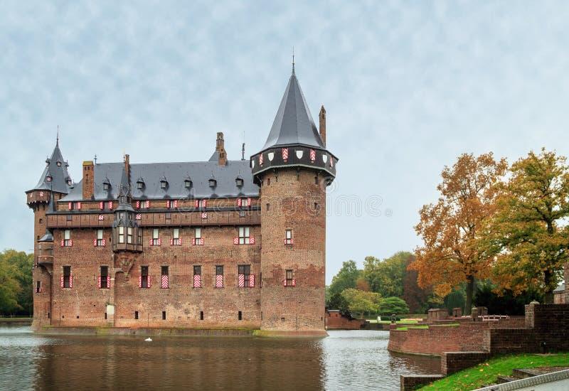 Castle De Haar a Utrecht, Paesi Bassi immagini stock