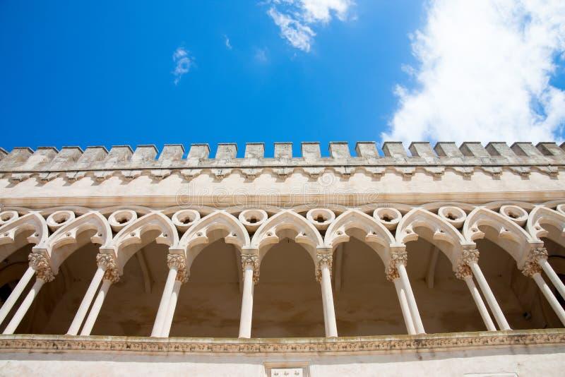 Castle detail stock image
