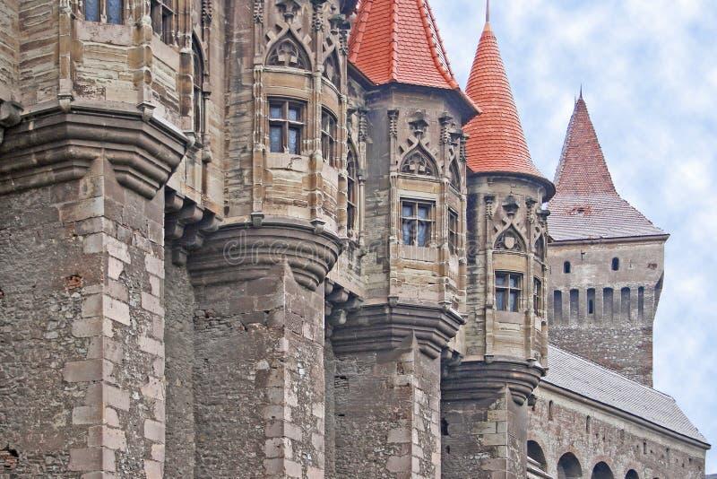 Castle details (6) stock image