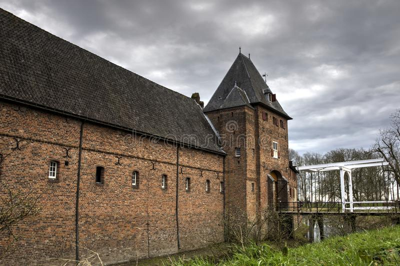 Castle Doorwerth royalty free stock photos