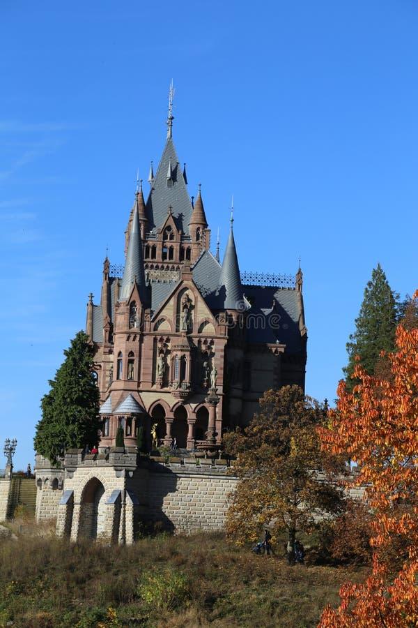 Castle ` Drachenburg ` στοκ εικόνα