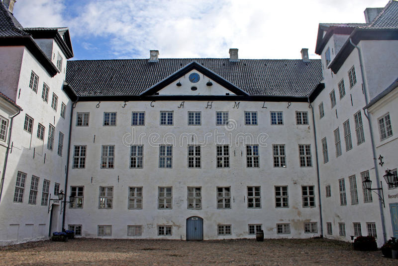 Castle Dragsholm στοκ εικόνες