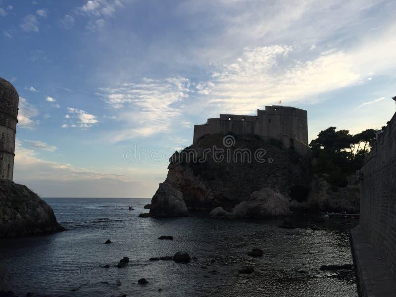 Castle Dubrovnik στοκ φωτογραφίες